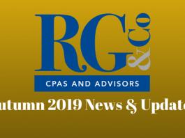 Autumn 2019 Newsletter