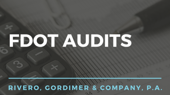 FDOT Audits in Tampa | Rivero, Gordimer & Company